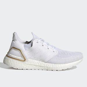 adidas UltraBOOST 20 White Gold